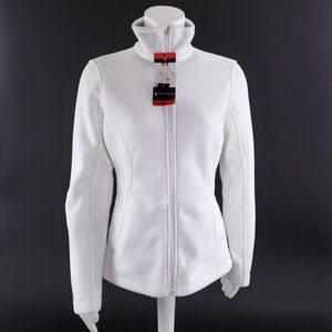 Spyder Womens M Full Zip Mid Weight Fleece Jacket